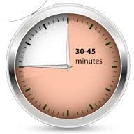 30-45-minutes-on-a-clock