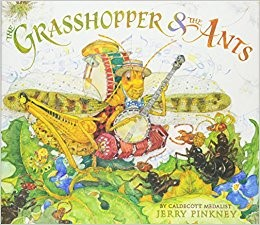 Grasshoppers and the ants